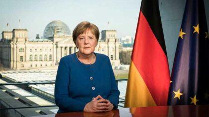 Angela Merkel exprima sustinere pentru...