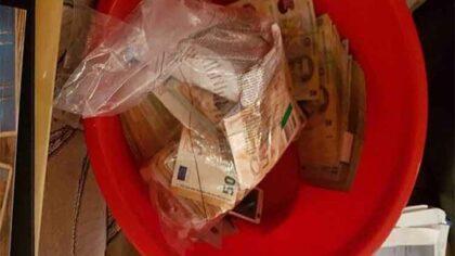 Bani si bunuri de peste...