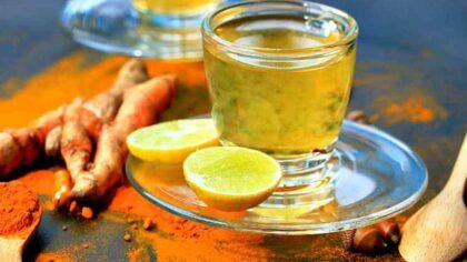 Ceaiul de curcuma cu lamaie:...