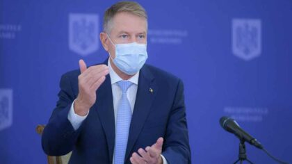 Klaus Iohannis, a respins o...