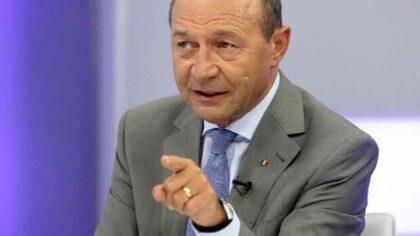 Fostul presedine Traian Basescu, despre...