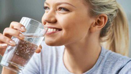 Beneficiile unui pahar cu apa...